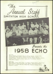 Page 5, 1958 Edition, Smithton High School - Echo Yearbook (Smithton, MO) online yearbook collection