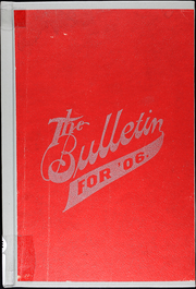 1906 Edition, Greenfield High School - Bulletin Yearbook (Greenfield, MO)