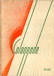 1940 Edition, McBride High School - Colonnade Yearbook (St Louis, MO)