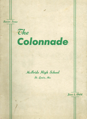 1944 Edition, McBride High School - Colonnade Yearbook (St Louis, MO)