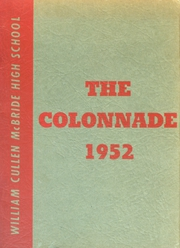 1952 Edition, McBride High School - Colonnade Yearbook (St Louis, MO)
