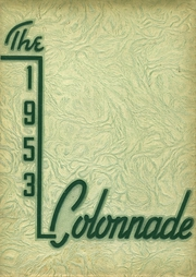 1953 Edition, McBride High School - Colonnade Yearbook (St Louis, MO)