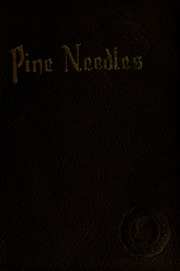 University of North Carolina Greensboro - Pine Needles Yearbook (Greensboro, NC) online yearbook collection, 1920 Edition, Page 1