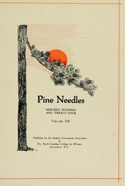 Page 7, 1924 Edition, University of North Carolina Greensboro - Pine Needles Yearbook (Greensboro, NC) online yearbook collection