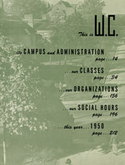Page 10, 1950 Edition, University of North Carolina Greensboro - Pine Needles Yearbook (Greensboro, NC) online yearbook collection