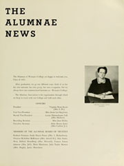 Page 17, 1953 Edition, University of North Carolina Greensboro - Pine Needles Yearbook (Greensboro, NC) online yearbook collection