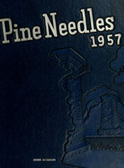 University of North Carolina Greensboro - Pine Needles Yearbook (Greensboro, NC) online yearbook collection, 1957 Edition, Page 1