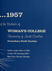 Page 7, 1957 Edition, University of North Carolina Greensboro - Pine Needles Yearbook (Greensboro, NC) online yearbook collection