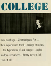 Page 13, 1961 Edition, University of North Carolina Greensboro - Pine Needles Yearbook (Greensboro, NC) online yearbook collection