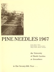 Page 5, 1967 Edition, University of North Carolina Greensboro - Pine Needles Yearbook (Greensboro, NC) online yearbook collection