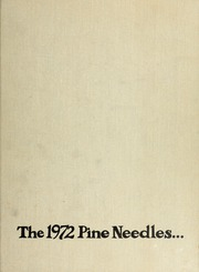 1972 Edition, University of North Carolina Greensboro - Pine Needles Yearbook (Greensboro, NC)