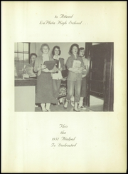 Page 15, 1957 Edition, La Plata High School - Atalpal Yearbook (La Plata, MO) online yearbook collection