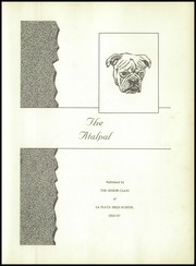Page 7, 1957 Edition, La Plata High School - Atalpal Yearbook (La Plata, MO) online yearbook collection