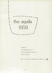 Page 5, 1959 Edition, Naylor High School - Aquila Yearbook (Naylor, MO) online yearbook collection