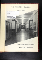 Page 5, 1966 Edition, Wheaton High School - Bulldog Yearbook (Wheaton, MO) online yearbook collection
