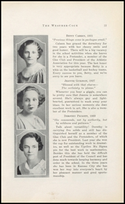Page 17, 1933 Edition, Barstow School - Weathercock Yearbook (Kansas City, MO) online yearbook collection