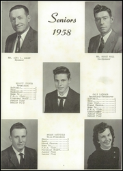 Page 10, 1958 Edition, Norwood High School - Pirate Yearbook (Norwood, MO) online yearbook collection