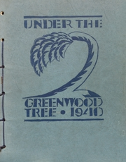 Page 1, 1940 Edition, Greenwood High School - Under the Greenwood Tree Yearbook (Springfield, MO) online yearbook collection