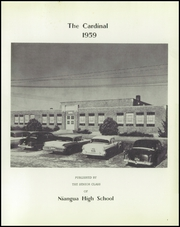 Page 5, 1959 Edition, Niangua High School - Cardinal Yearbook (Niangua, MO) online yearbook collection