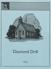 1913 Edition, Bonne Terre High School - Diamond Drill Yearbook (Bonne Terre, MO)