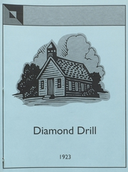 Page 1, 1923 Edition, Bonne Terre High School - Diamond Drill Yearbook (Bonne Terre, MO) online yearbook collection