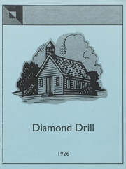 1926 Edition, Bonne Terre High School - Diamond Drill Yearbook (Bonne Terre, MO)