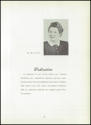 Page 7, 1955 Edition, Madison High School - Panther Recall Yearbook (Madison, MO) online yearbook collection