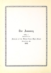 Page 8, 1915 Edition, Walnut Grove High School - Yearbook (Walnut Grove, MO) online yearbook collection