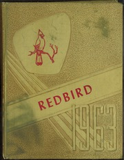 1963 Edition, Anderson High School - Redbird Yearbook (Anderson, MO)