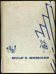 1961 Edition, Wheatland High School - Mules Memoirs Yearbook (Wheatland, MO)