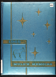 1965 Edition, Wheatland High School - Mules Memoirs Yearbook (Wheatland, MO)