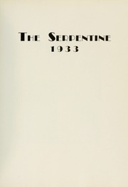 Page 11, 1933 Edition, West Chester University - Serpentine Yearbook (West Chester, PA) online yearbook collection