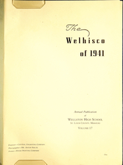 Page 5, 1941 Edition, Wellston High School - Welhisco Yearbook (St Louis, MO) online yearbook collection