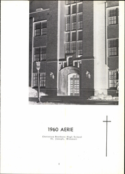 Page 5, 1960 Edition, Christian Brothers High School - Aerie Yearbook (St Joseph, MO) online yearbook collection