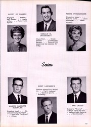 Page 17, 1963 Edition, Fairfax High School - Guardian Yearbook (Fairfax, MO) online yearbook collection