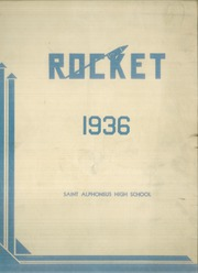 1936 Edition, St Alphonsus High School - Rocket Yearbook (St Louis, MO)