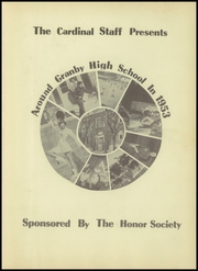 Page 5, 1953 Edition, Granby High School - Cardinal Yearbook (Granby, MO) online yearbook collection