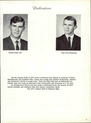 Page 9, 1971 Edition, Winston High School - Redbird Yearbook (Winston, MO) online yearbook collection