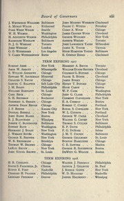 Page 19, 1915 Edition, American College of Surgeons - Yearbook (Chicago, IL) online yearbook collection