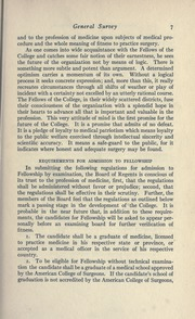 Page 27, 1915 Edition, American College of Surgeons - Yearbook (Chicago, IL) online yearbook collection