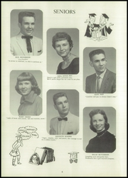Page 12, 1958 Edition, Cardwell High School - Arrowhead Yearbook (Cardwell, MO) online yearbook collection
