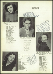 Page 14, 1954 Edition, Ridgeway High School - Owl Yearbook (Ridgeway, MO) online yearbook collection