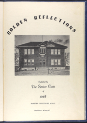 Page 7, 1948 Edition, Washburn High School - Golden Reflections Yearbook (Washburn, MO) online yearbook collection