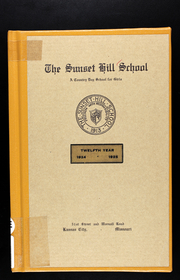 Page 1, 1925 Edition, Sunset Hill High School - Sundial Yearbook (Kansas City, MO) online yearbook collection