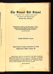 Page 9, 1925 Edition, Sunset Hill High School - Sundial Yearbook (Kansas City, MO) online yearbook collection
