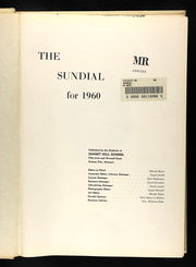 Page 5, 1960 Edition, Sunset Hill High School - Sundial Yearbook (Kansas City, MO) online yearbook collection