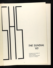 Page 5, 1963 Edition, Sunset Hill High School - Sundial Yearbook (Kansas City, MO) online yearbook collection