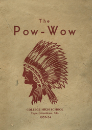 1934 Edition, College High School - Pow Wow Yearbook (Cape Girardeau, MO)
