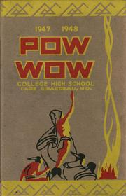1948 Edition, College High School - Pow Wow Yearbook (Cape Girardeau, MO)