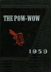 1959 Edition, College High School - Pow Wow Yearbook (Cape Girardeau, MO)
